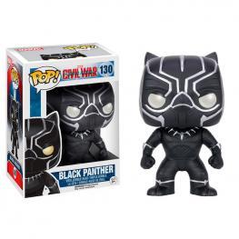Figura Pop Marvel Civil War Black Panther