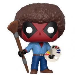 Figura Pop Marvel Deadpool Parody Deadpool Bob Ross