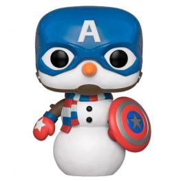 Figura Pop Marvel Holiday Capitan America