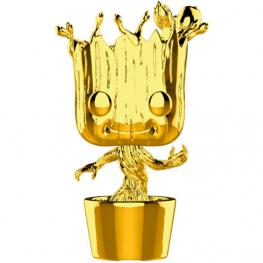 Figura Pop Marvel Studios 10 Groot Gold Chrome