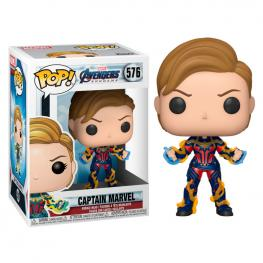 Figura Pop Marvel Vengadores Endgame Captain Marvel With New Hair
