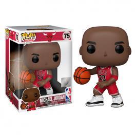 Figura Pop Nba Bulls Michael Jordan Red Jersey 25Cm