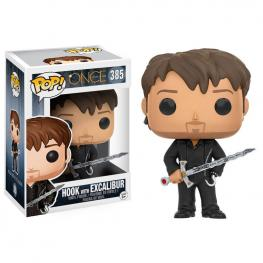 Figura Pop Once Upon A Time Hook With Excalibur