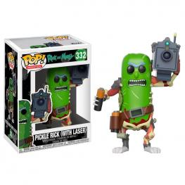 Figura Pop Rick & Morty Pickle Rick With Laser