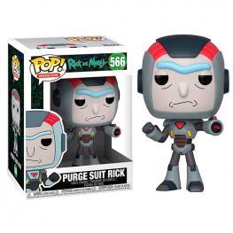 Figura Pop Rick & Morty Purge Suit Rick