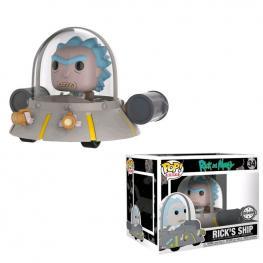 Figura Pop Rick & Morty Space Cruiser Exclusive