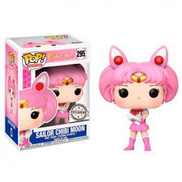 Figura Pop Sailor Moon Chibi Moon Sparkle Glitter Exclusive
