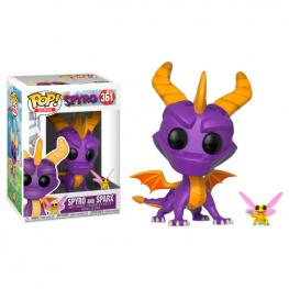 Figura Pop Spyro The Dragon Spyro & Sparx