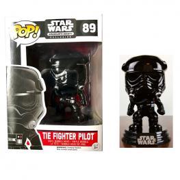 Figura Pop Star Wars Black Chrome Tie Fighter Pilot Limited