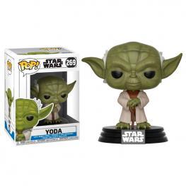 Figura Pop Star Wars Clone Wars Yoda