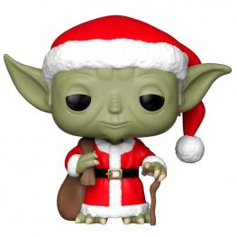 Figura Pop Star Wars Holiday Santa Yoda