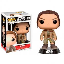 Figura Pop Star Wars Rey With Finn'S Jacket Exclusive