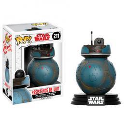 Figura Pop Star Wars The Last Jedi Resistance Bb Unit Exclusive