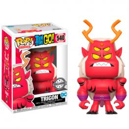 Figura Pop! Teen Titans Go! Trigon Eccc 2017 Exclusive