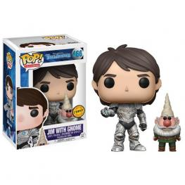 Figura Pop Trollhunters Jim Armored With Gnome Chase