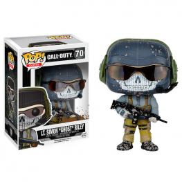 Figura Pop Vinyl Lt. Simon 'Ghost' Riley Call Of Duty