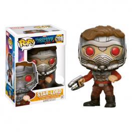 Figura Pop! Vinyl Marvel Guardians Of The Galaxy Star-Lord In Mask