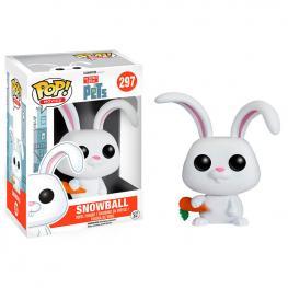 Figura Pop Vinyl Mascotas Pets Snowball