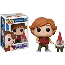 Figura Pop! Vinyl Trollhunters Toby With Gnome