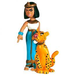 Figura Reina Cleopatra de Egipto Asterix el Galo 6Cm
