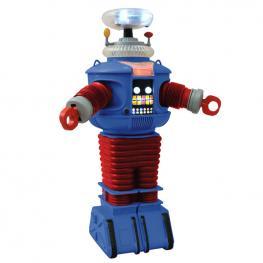 Figura Robot B9 Retro Perdidos En el Espacio Luz y Sonido 25Cm
