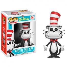 Figura Vinyl Pop! Dr. Seuss Cat In The Hat Flocked