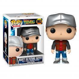 Figura Pop Back To The Future Marty In Future Outfit