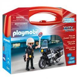 Maletin Policia Playmobil City Action