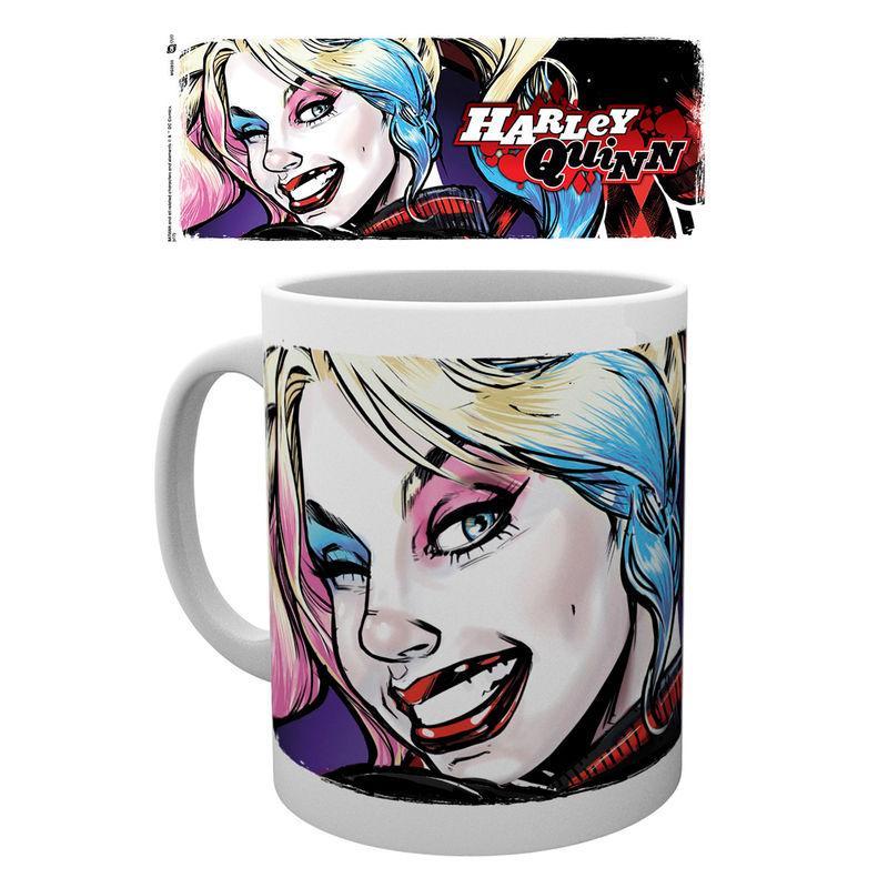 Taza Batman Comics Harley Quinn Wink