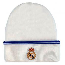 Gorro Real Madrid Blanco Adulto