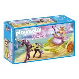 Hada Flor Con Carro Playmobil Fairies