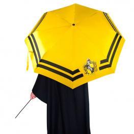 Paraguas Automatico Plegable Hufflepuff Harry Potter