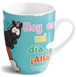 Taza Hoy Es Mi Dia ¡alla Voy! Nici