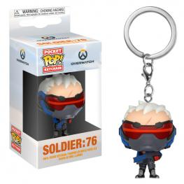 Llavero Pocket Pop Overwatch Soldier 76
