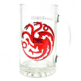 Jarra Cristal Fire And Blood Targaryen Juego de Tronos