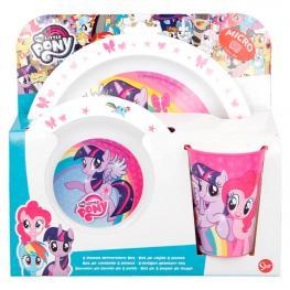 Set Desayuno Mi Pequeño Pony Microondas