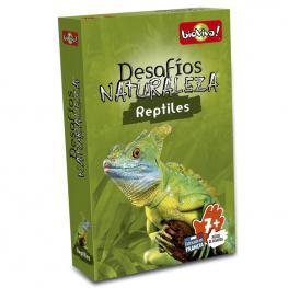 Juego Cartas Desafios de la Naturaleza Reptiles