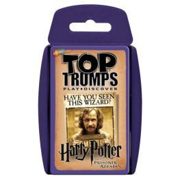 Juego Cartas Harry Potter y el Prisionero de Azkaban Top Trumps