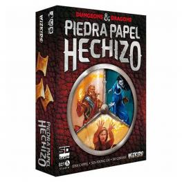 Juego Dungeons And Dragons Piedra Papel Hechizo