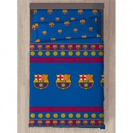Juego Sabanas Fc Barcelona Cama 90Cm