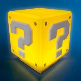 Lampara Sonido Mini Question Block Super Mario Bros Nintendo