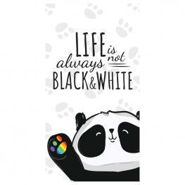Toalla Life Is Not Always Black & White Microfibra