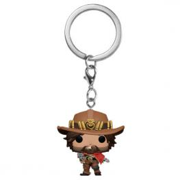 Llavero Pocket Pop Overwatch Mccree