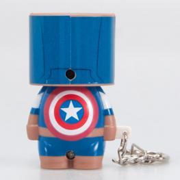 Llavero Capitan America Marvel Look-Alite