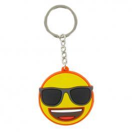 Llavero Emoji Cara Gafas de Sol
