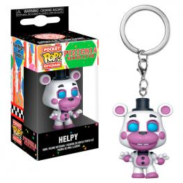 Llavero Pocket Pop Five Nights Al Freddys 6 Pizza Sim Helpy