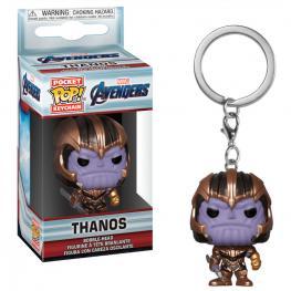Llavero Pocket Pop Marvel Avengers Endgame Thanos