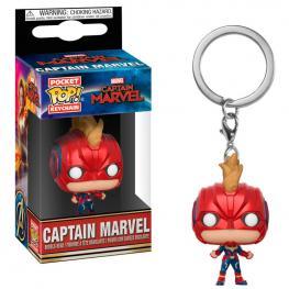 Llavero Pocket Pop Marvel Capitana Marvel Casco