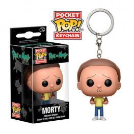 Llavero Pocket Pop Rick And Morty Morty