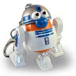 Llavero Potato Poptaters Star Wars R2D2